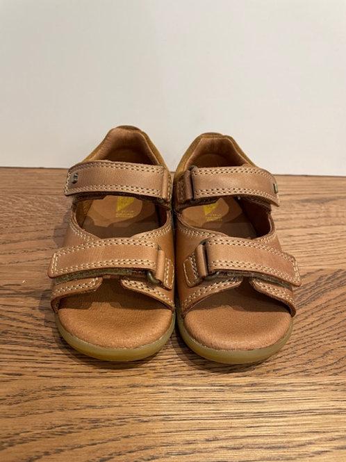 Bobux: Step Up - Driftwood Caramel Sandals