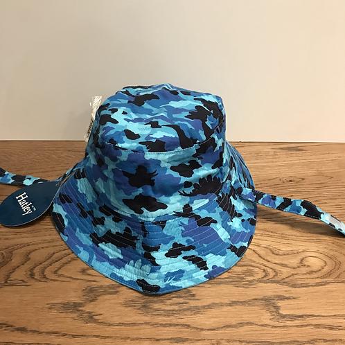 Hatley: Reversible Bucket Hat (Blue Camo)