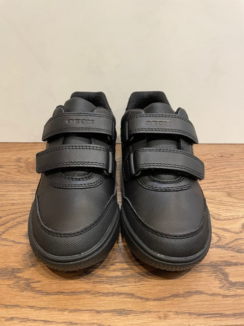 Geox: J Poseido - Black School Shoe