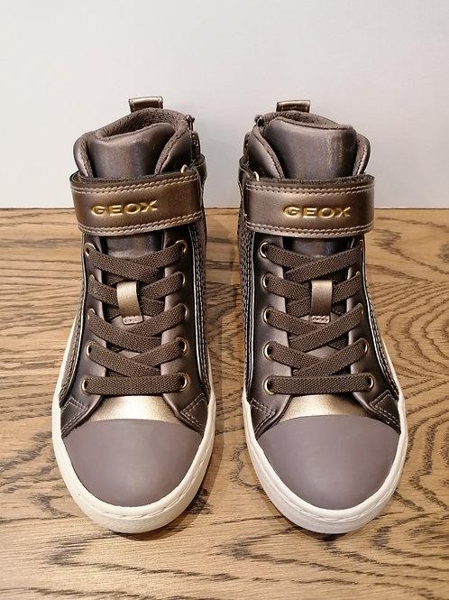 Geox: Kalispera - Dark Beige Boot