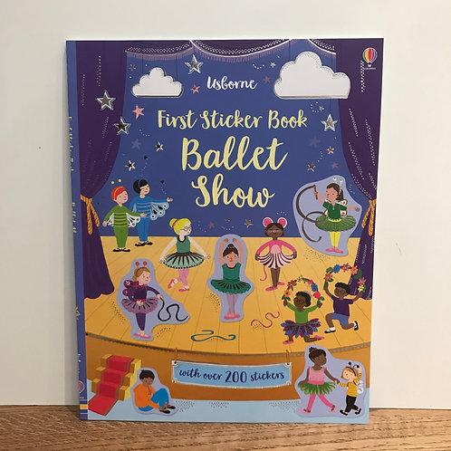 Ballet Shoes Sticker Book