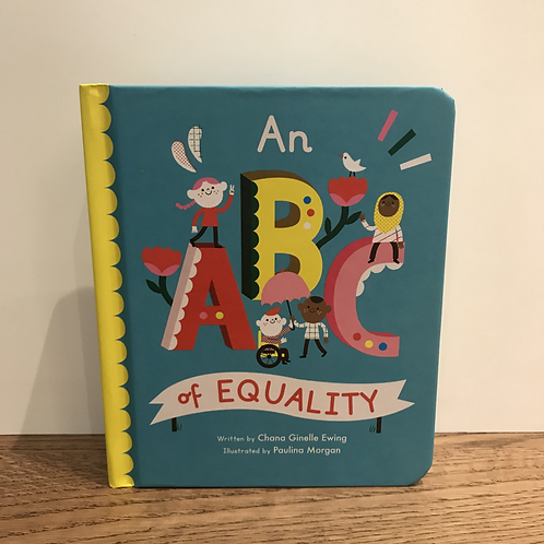 Chana Ewing: An ABC of Equality Book