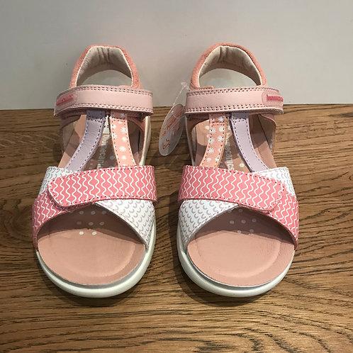 Biomechanics: Open Toe Pink Sandal