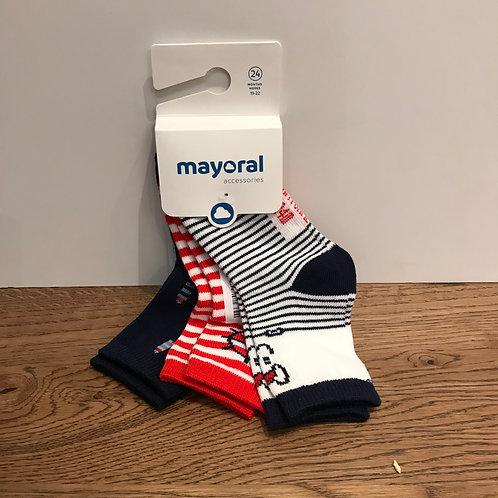 Mayoral: Red Socks