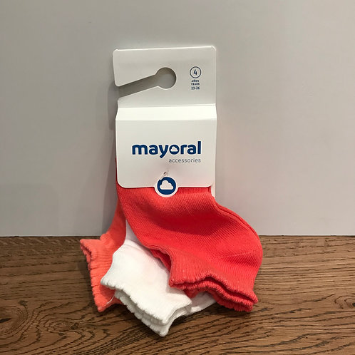 Mayoral: Coral Trainer Socks