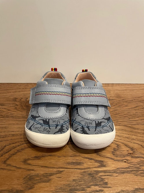 Start.Rite: Footprint - Blue Shoe
