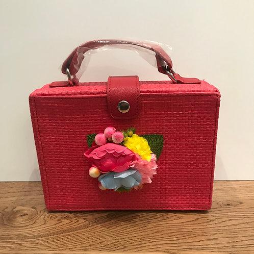 Mayoral: Hot Pink Flower Bag