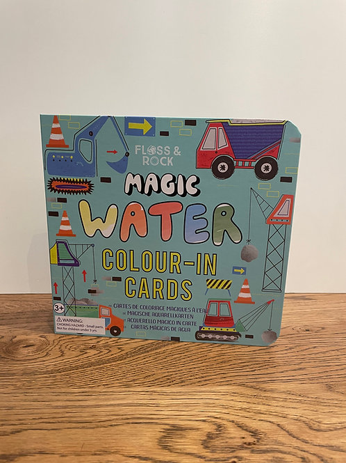 Floss & Rock: Construction - Water Colour in Cards