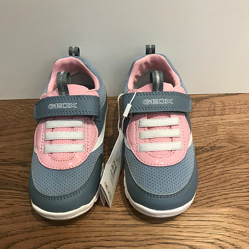 Geox: B Runner - Pink & Grey Trainer