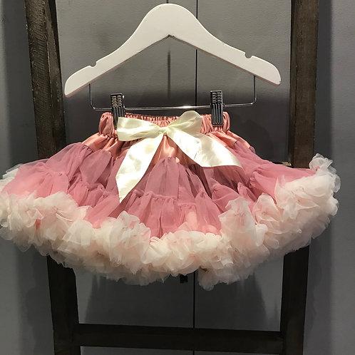Petti Skirt - Rose & Cream