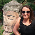 Rachel and Buddha pic.jpg