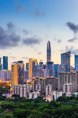 Shenzhen Futian Financial District build