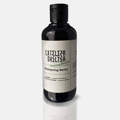 Shampoing Pour Barbe Cannabeard L'ATELIER SHELTER 200ml