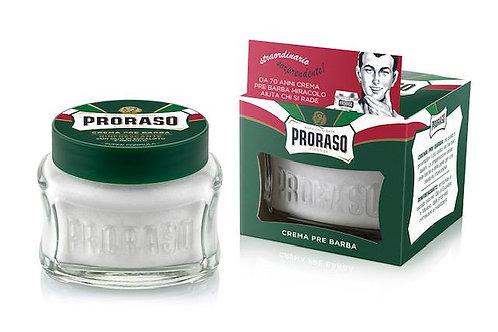 Crème avant rasage Proraso rafraîchissante et tonifiante 100ml