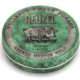 Cire Reuzel verte fixation moyenne 113g