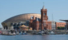 Cardiff Bay, Pierhead Building, Wales Mi