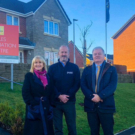 Llanmoor Homes and Pobl Group announce continuation of partnership to deliver affordable homes