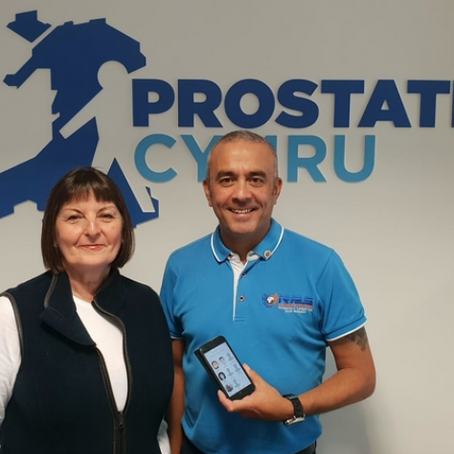 Prostate Cymru helpline goes live