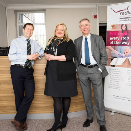 The Partners of Redkite solicitors acquire Harris Arnold solicitors of Swansea