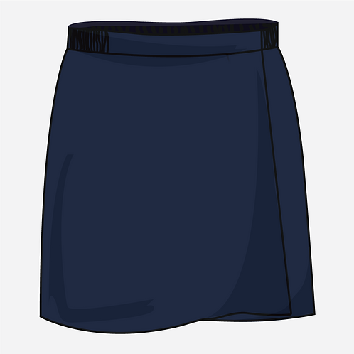 Navy Blue Skort Girls  [ Fs1 to Fs2 ]