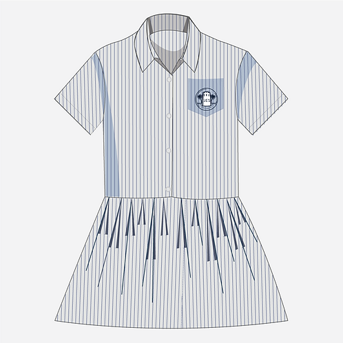 Striped Dress Girl's [ Year Fs1 to Year 6 ]