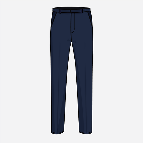 Navy Blue Trouser  Boys [ Year 9 to 11 ]