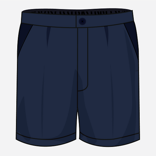 Navy Blue Shorts Boys [ Fs1 to Fs2 ]