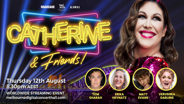 """""""riotously entertaining""""  Erika Joins Catherine and Friends Global live-streaming eveNt"""