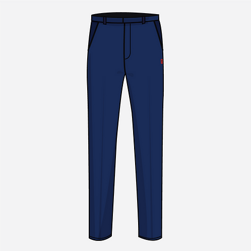 Navy Blue Boy's Trousers  [ Year 6 to Year 7 ]