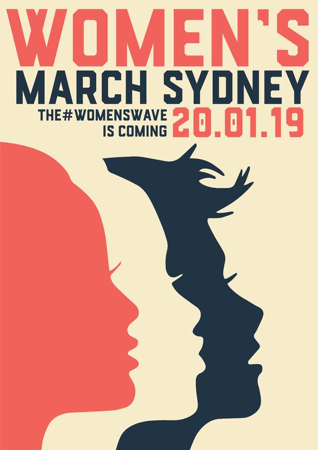 WOMENS WAVE 2019                        Erika Heynatz Announced as Women's March Sydney Ambassador