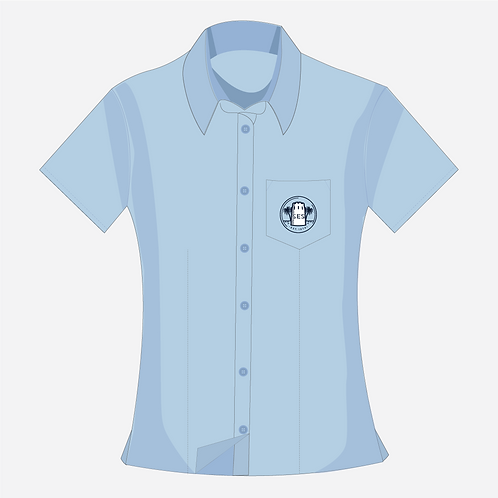Blue Blouse Girl's [ Year 7 to Year 11 ]