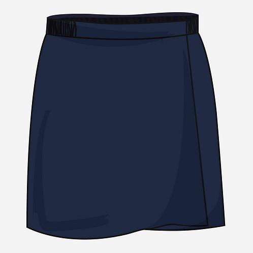 Navy Blue Skort Girls  [ Fs1 to Fs2 ]