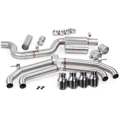 APR Catback Exhaust w/o valves/mufflers - MK7 Golf R   APR000018