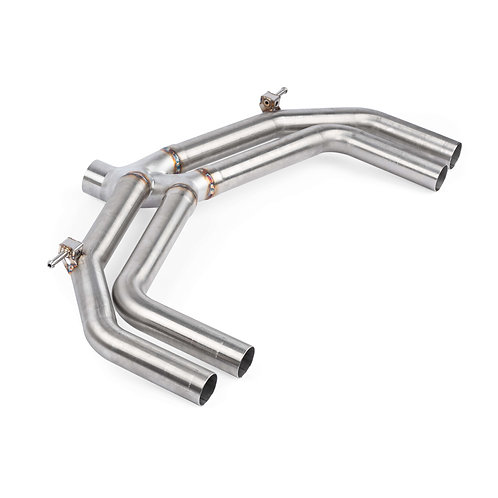 APR Catback Exhaust w/o valves/mufflers - S3 (8V) | APR TBA
