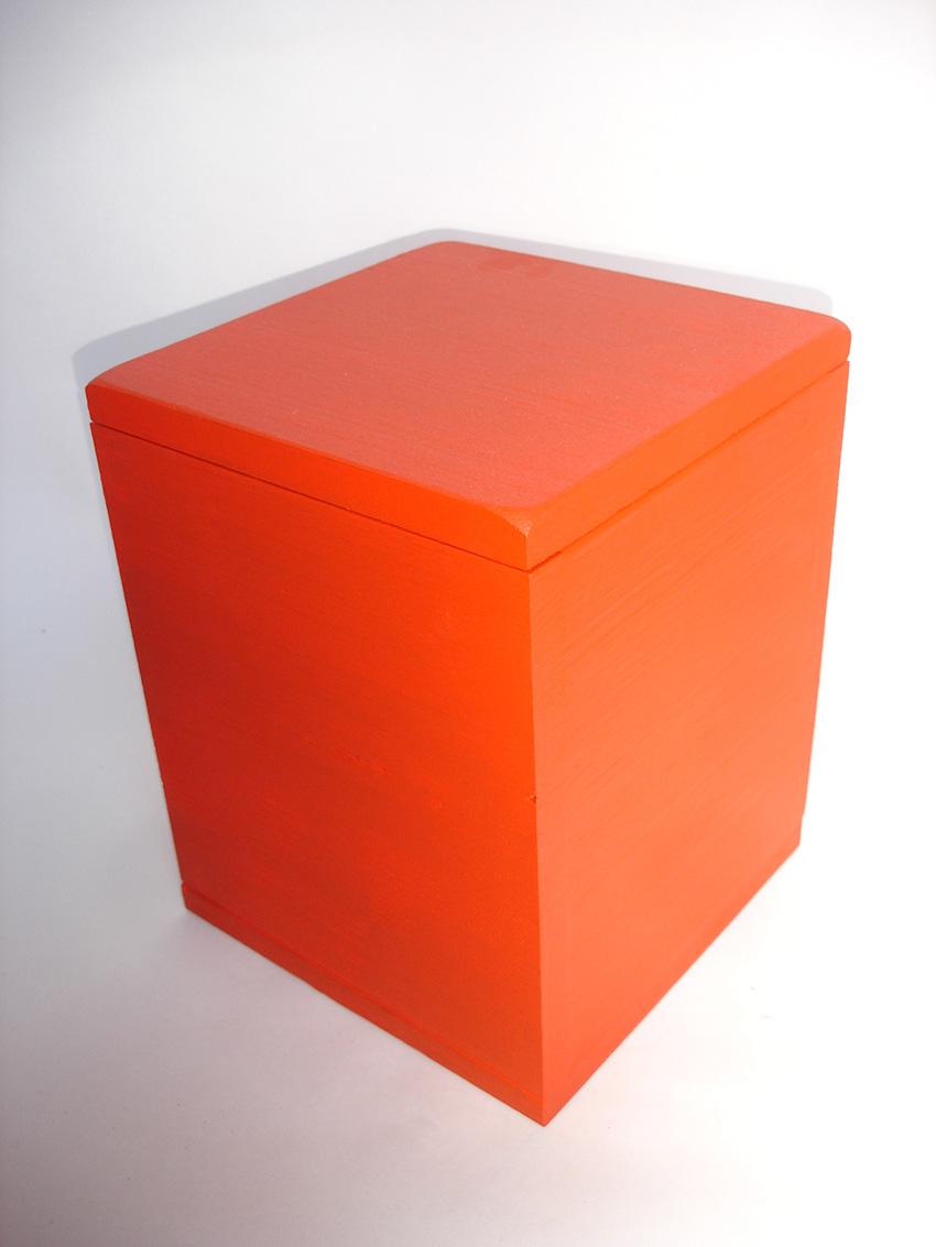 Design Urne Rot