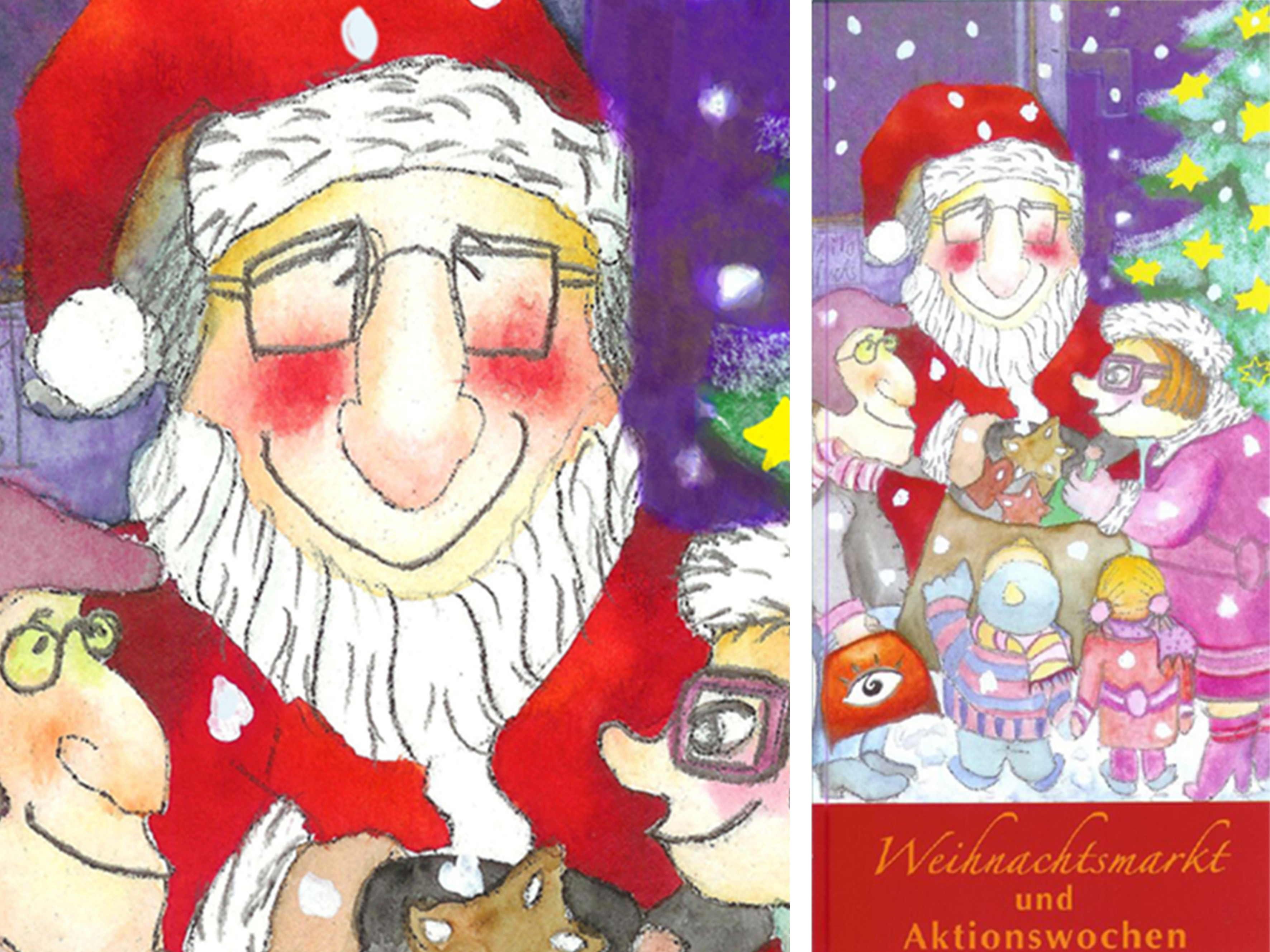 Weihnachtskarte individuell
