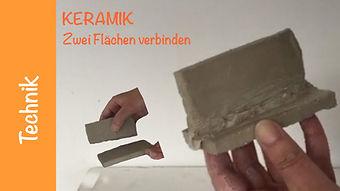 Keramik Flaechen verbinden