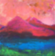 Tegernsee.AcrylaufLeinwand.40x40cm