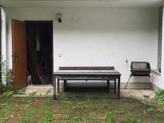Verlassenes Ferienhaus