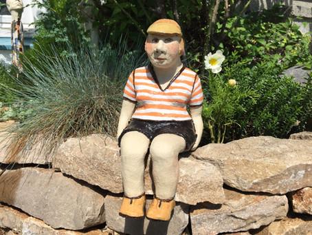 Tutorial Keramik : Sitzende Figur