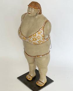 Keramik, H_ 58 cm, Unikat, wetterfest, 2