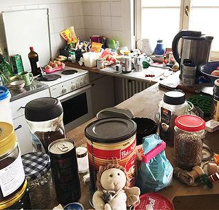 Küche eines Künstlers