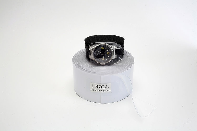 Regular size peel off anti-static watch case covers