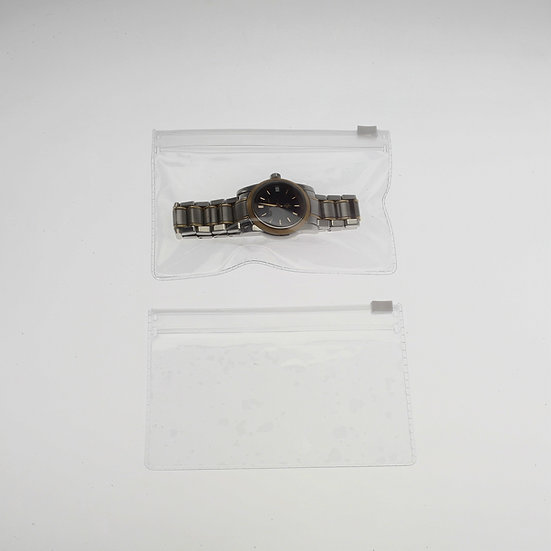 3 x 5 clear  zipper pouch-100 pack