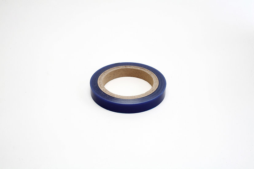 17mm blue bracelet tape -semi sticky