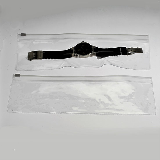 3 x 12 clear zipper pouch-100 pack