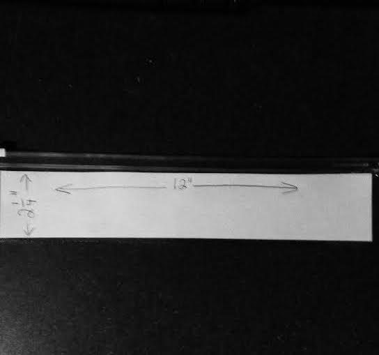 2-1/4 x 12 clear zipper pouch-100 pack