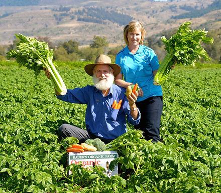 Bauer's Organic Vegies, Lockyer Valley