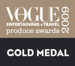 Vogue Produce Awards Gold Medal