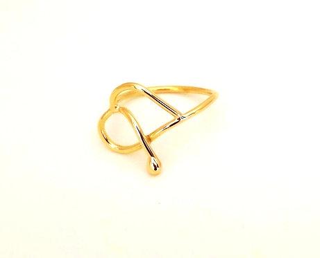 Δαχτυλίδι Χειροποίητο Κ18